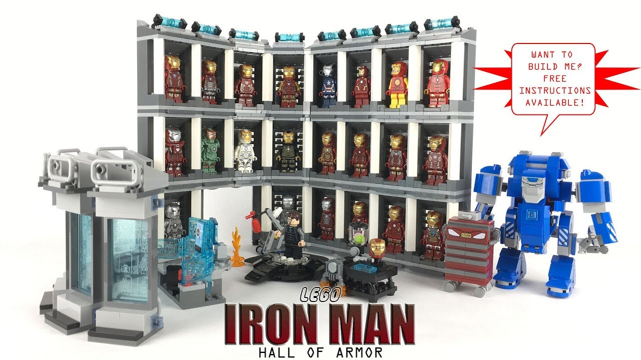 LEGO Iron Man's Hall of Armor: MOC Review