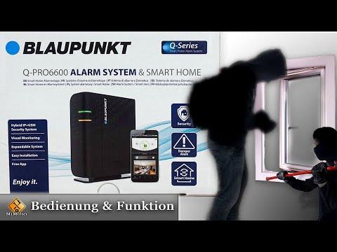 Blaupunkt Alarmanlage - einrichten & installieren / Blaupunkt Q-Pro6600 & Q-Pro6300