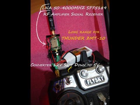 LNA 50-4000MHz SPF5189 RF Amplifier Signal for Flysky