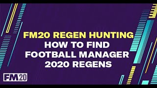 How to find Football Manager 2020 newgens.