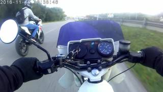 Sachs Fuego Vs Honda CBR125 Vs Casal 4 (SJ8000)