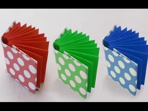 Mini-Buch falten - So klappt es mit Origami