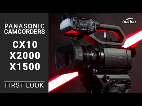 Panasonic 4K60P Professional Camcorders AG-CX10, HC-X200, HC-X1500 | First Look
