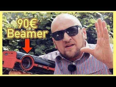 90 EURO FULL HD BEAMER  KAUFEN ? BEAMER TEST 🔝