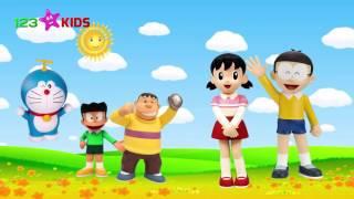 Finger Family Doraemon Toys ☘ Family Nursery Rhyme - Baby Finger Doraemon Toys