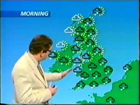 Big freeze - January 1987 - weather forecast presented by Ian McCaskill