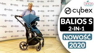 CYBEX BALIOS S 2-IN-1 (2020) RECENZJA PRZEKSZTAŁCANEGO WÓZKA 2W1 - BOBOZAKUPY.PL