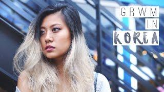 GRWM   Everyday Makeup Look in Korea