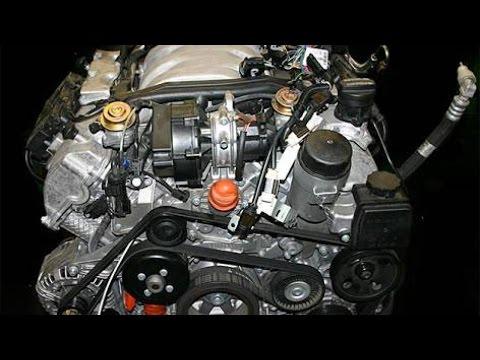 Фото к видео: Mercedes W209 M112 2.6 V6, Разбор (часть 1)