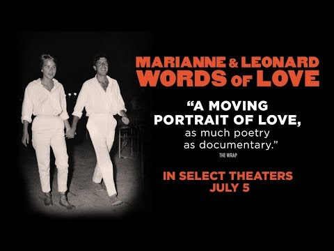 Movie Trailer: Marianne & Leonard: Words of Love (0)