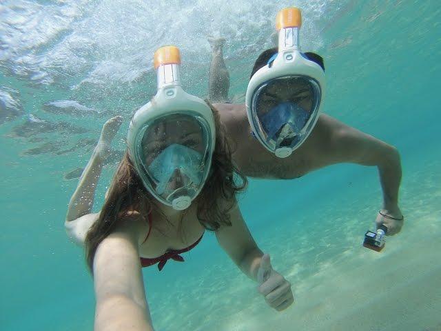 GoPro Snorkel Mask Costa Brava, Spain