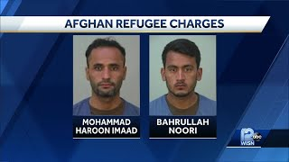 Afghan refugees charged in Wisconsin