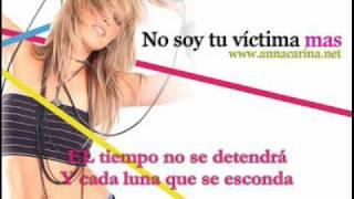 Anna Carina - No soy tu victima mas (Calidad CD)