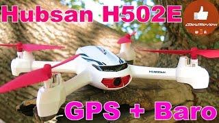 ✔ Hubsan X4 H502E - Самый дешевый Квадрокоптер с GPS и HD Камерой ($80!) Banggood