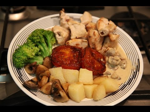 """"""" WHITE CHICKEN BBQ MEAL """" Bajias Cooking"""