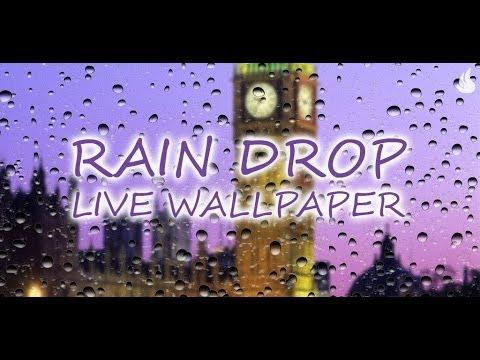 Video of Rain Drop Live Wallpaper