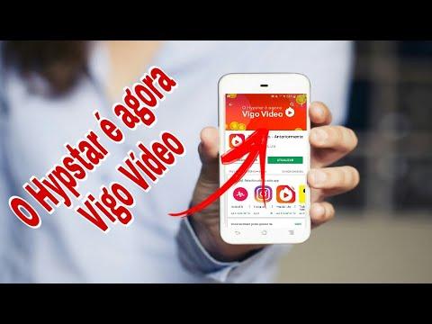O HYPSTAR Agora é Vigo VÍDEO - Ganhe dinheiro no paypal postando vídeos pelo celular