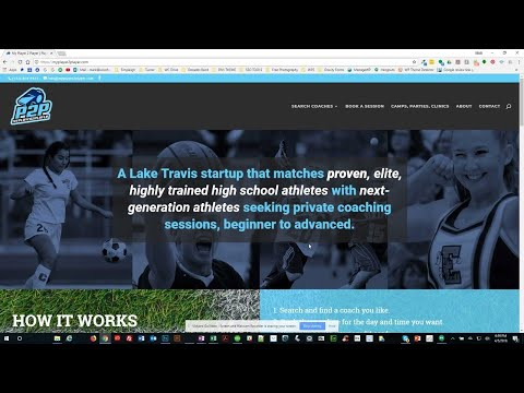 MyP2P: Coaches Can Use Wordpress To Update Schedule & Services