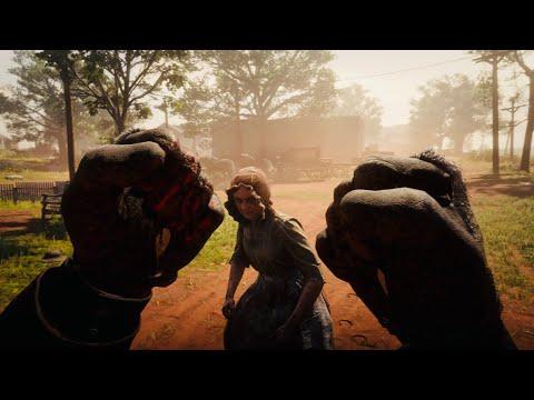 Red Dead Redemption 2 - Funny/Brutal Moments Vol.31