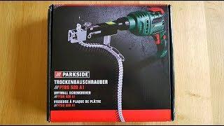 Parkside PTBS 520 A1 Trockenbauschrauber Magazin Bohrmaschine, Drywall Screwdriver