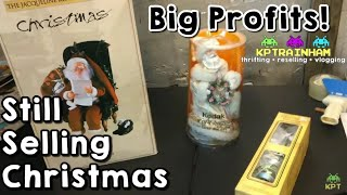 I'm Still Selling Christmas After Christmas On Ebay | Part Time Ebay Reseller Vlog