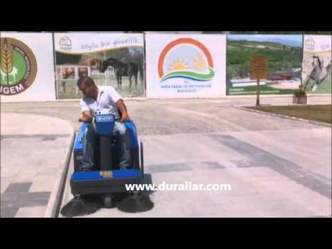 ISAL PB 106 Akülü Yol Süpürme Makinası-Sweeper sokak süpürücü