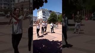Сквер Черняховского в День России