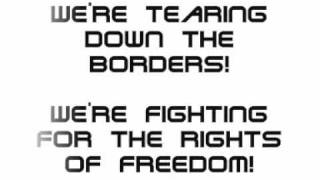 Anti Flag - Tearing down the Borders (Lyrics)