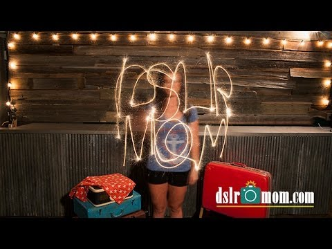 Photography Tutorial: How to Paint With Light -  Lisa Mac - DSLR Mom