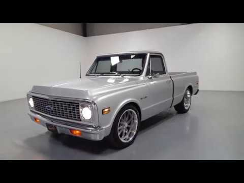 Video of Classic '71 Chevrolet C10 located in Mooresville North Carolina - $59,995.00 Offered by Shelton Classics & Performance - Q6DQ