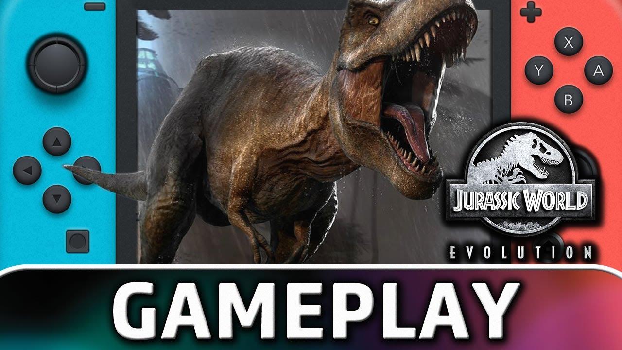 Jurassic World Evolution | Nintendo Switch Gameplay