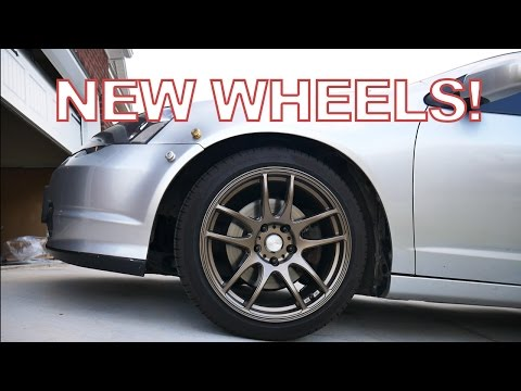 Project DC5 [RSX] Ep. 2 - New Wheels! (ESR SR08)