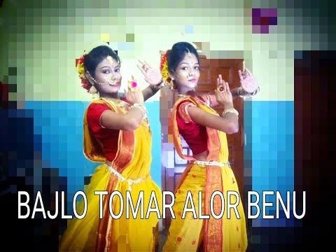 BAJLO TOMAR ALOR BENU DANCE VIDEO | BEST AGOMONI SONG | MAHALAYA SPECIAL