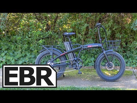 CIVI BIKES Rebel 1.0 Video Review – $1.3k Folding Fat Electric Bike #AD
