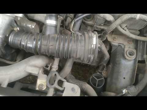 Фото к видео: Турбо дизель тупит, не разгоняется, глохнет. Мазда 3, 1.6 TDCI HDI. Электромагнитный клапан турбины.
