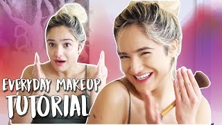 My Updated Everyday Makeup Routine! (Lots of Craziness) - Video Youtube