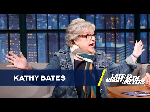 Kathy Bates Gets High Before Reading Every Disjointed Script