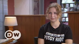 """Мария Алехина: """"Каждый может быть """"Pussy Riot"""" – Немцова.Интервью"""