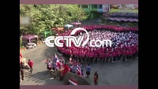 Видео: В Таиланде школьники выстроили сердце, чтобы поддержать Китай в борьбе с эпидемией