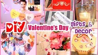 DIY Valentine's Day Gift Ideas & Decor! ❤ Boyfriend, Family, & Friends