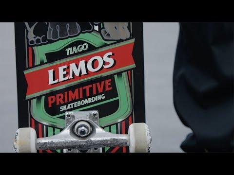 Tiago Lemos Welcome To Primitive Skate