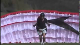Forward inflations Paragliding tips