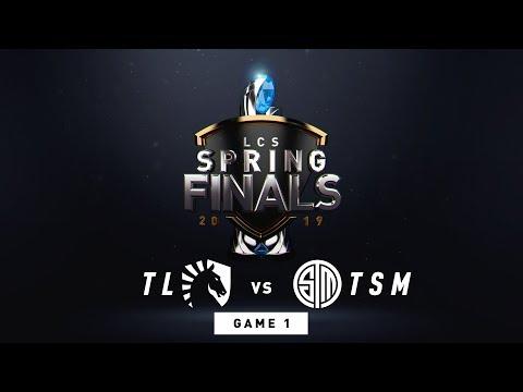 , title : 'TL vs. TSM | Finals Game 1 | LCS Spring Split | Team Liquid vs. TSM (2019)'