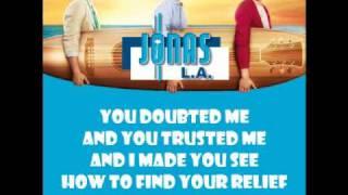 Jonas Brothers - Hey You (with lyrics)