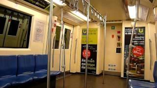 preview picture of video 'Bangkok MRT ride Bang Sueบางซื่อ~Kamphaeng Phetกำแพงเพชร'