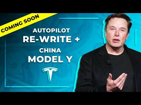 China Model Y Production Plans Revealed? + Tesla Autopilot Rewrite, Bill Gates/Elon Musk, Solar