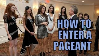 How to enter a pageant