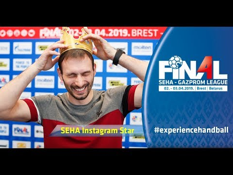 Igor Karacic about being voted as SEHA Instagram Star