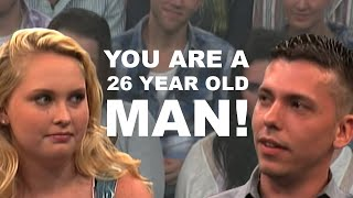 Why Are You Dating A Child? (The Steve Wilkos Show)