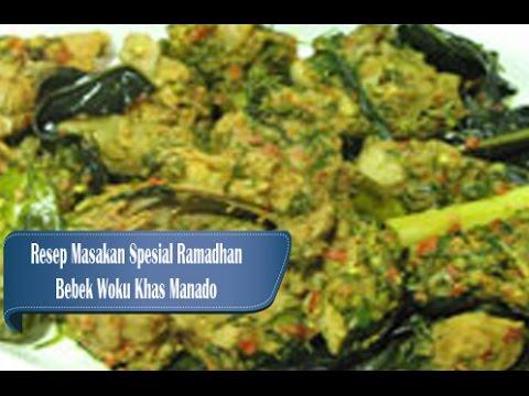 Video Resep Spesial Ramadhan Bebek Woku Khas Manado Menu Spesial Buka Puasa